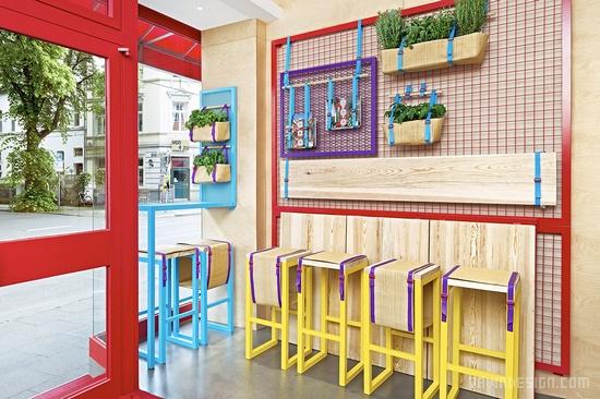 餐厅吧台折叠设计