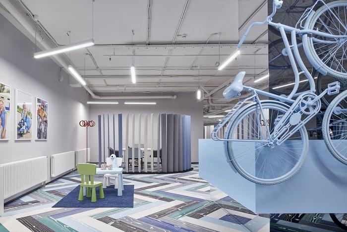 俄罗斯设计, 办公室改造, 办公室设计, 办公空间设计,办公室设计图片,办公室设计案例