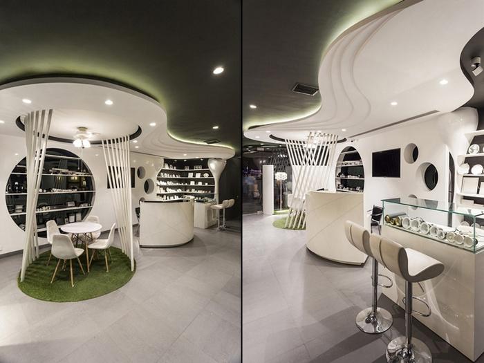 灯饰店各功能区域设计