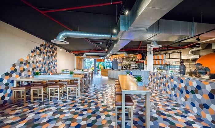 主题餐厅设计, 商业空间设计, 店面设计, 快餐店设计, 披萨店设计, 餐厅设计,披萨店设计图片,披萨店设计案例