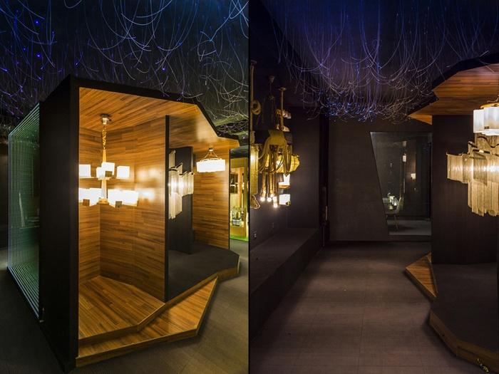 灯饰店展示区域设计