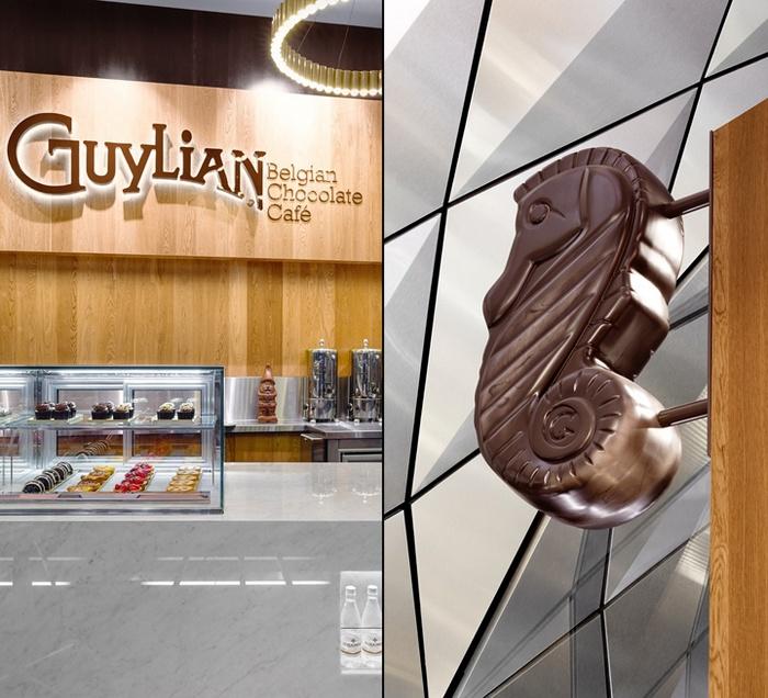 商业空间设计, 巧克力店设计, 店面设计, 澳大利亚设计, 糖果店设计,零售空间设计