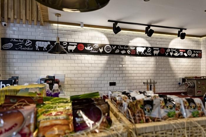 冷鲜肉店设计,猪肉店铺设计,精肉店设计,零售店设计,小型超市设计,便利店设计,生鲜店设计,生活超市设计