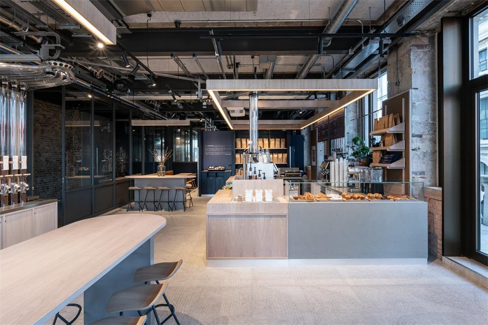 咖啡厅入门处设计