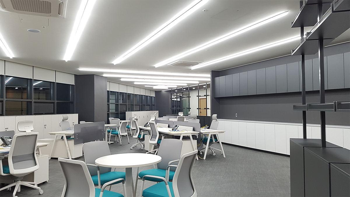 国外办公空间设计, 韩国设计, 银行办公室设计, 银行办公空间设计, 银行设计