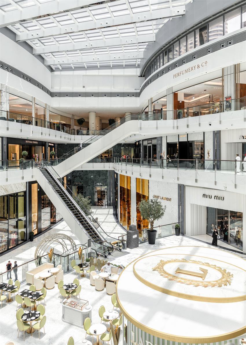商场中庭设计