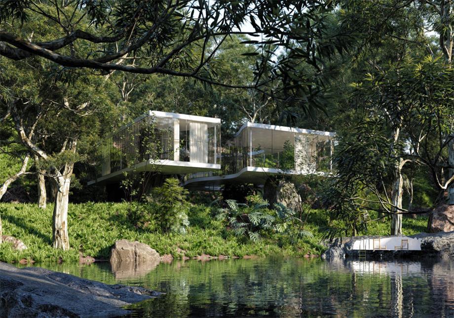 别墅设计外立面远景