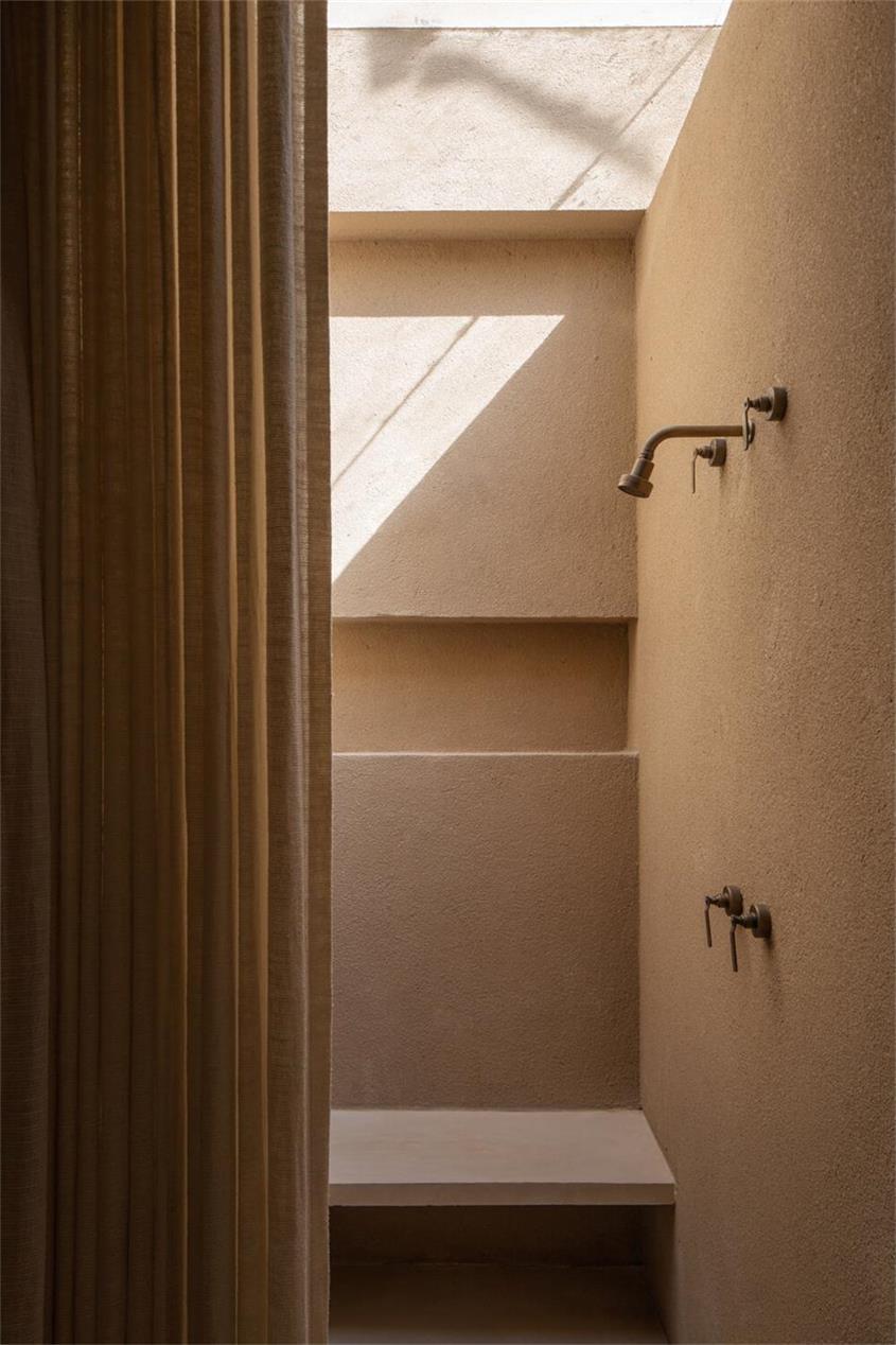瑜伽馆淋浴区设计