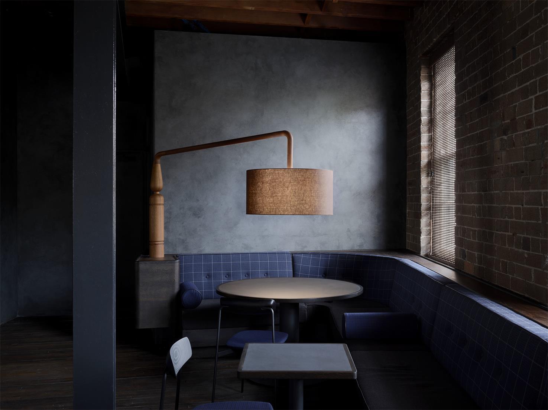 二楼酒吧休闲区设计