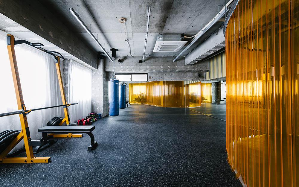 健身区域设计全景