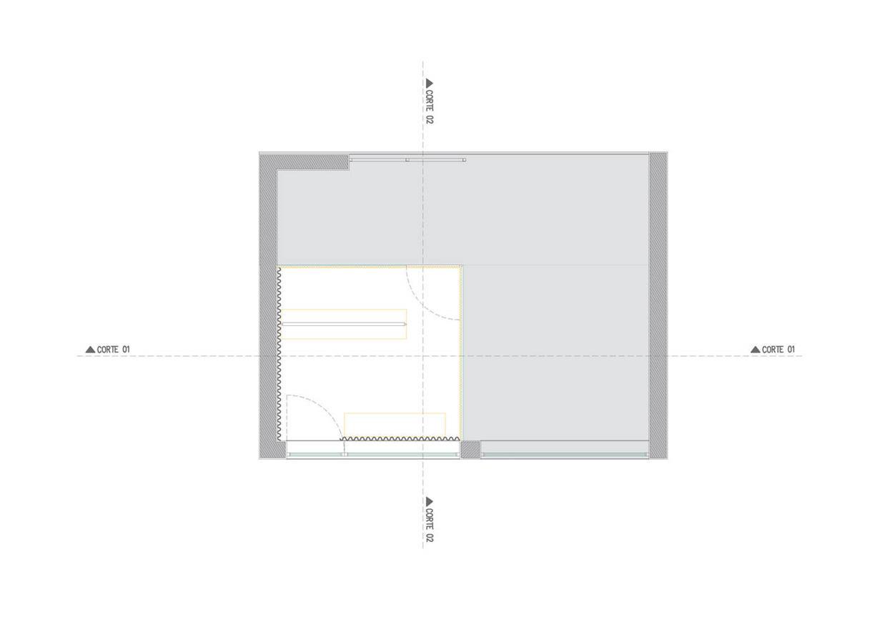 洗衣店平面图