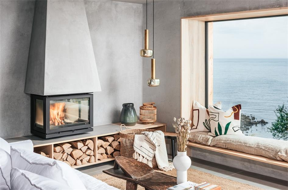 别墅壁炉造型设计