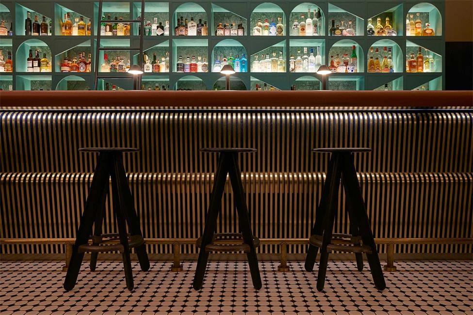 酒吧吧台吧椅设计