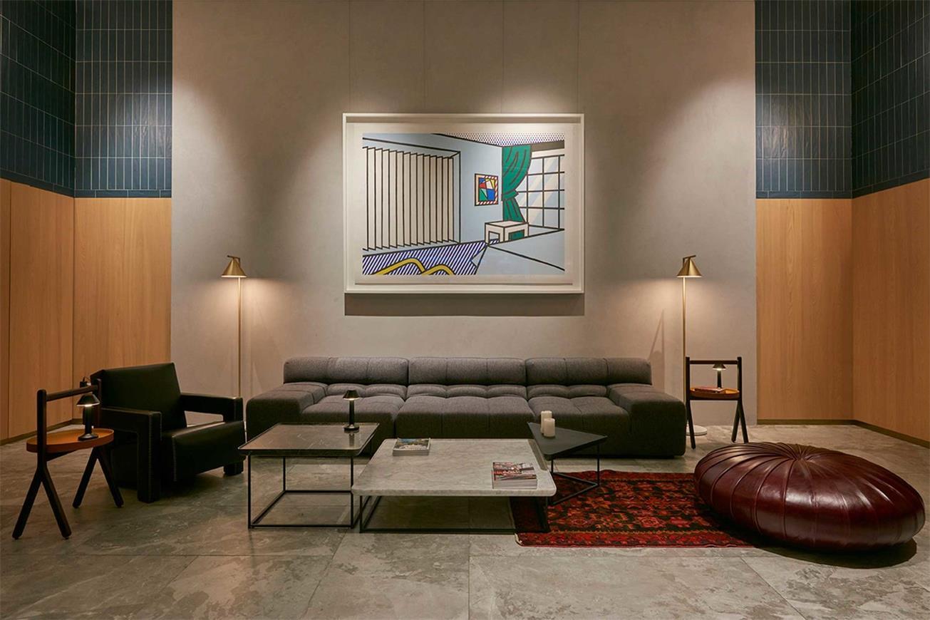 酒吧私人休息室沙发组合设计