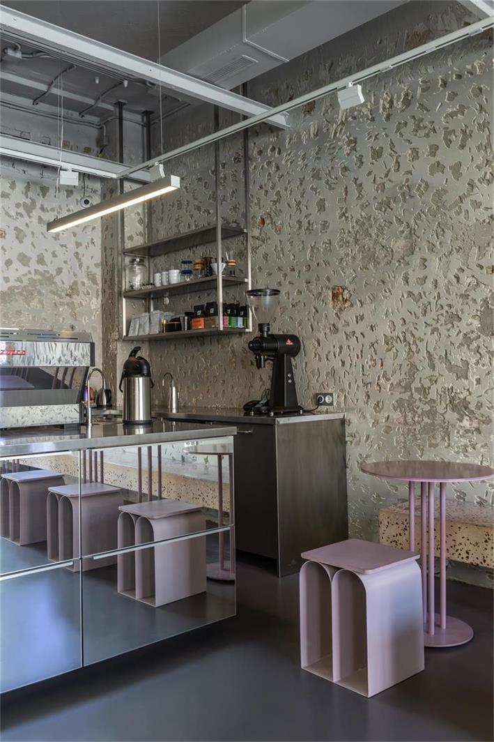 咖啡厅墙面设计