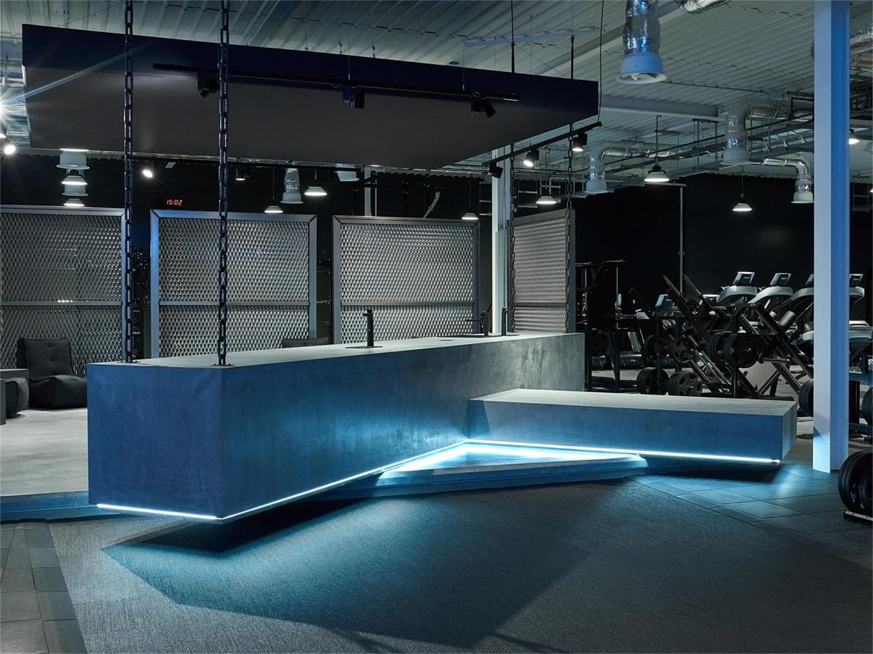 健身房前台设计