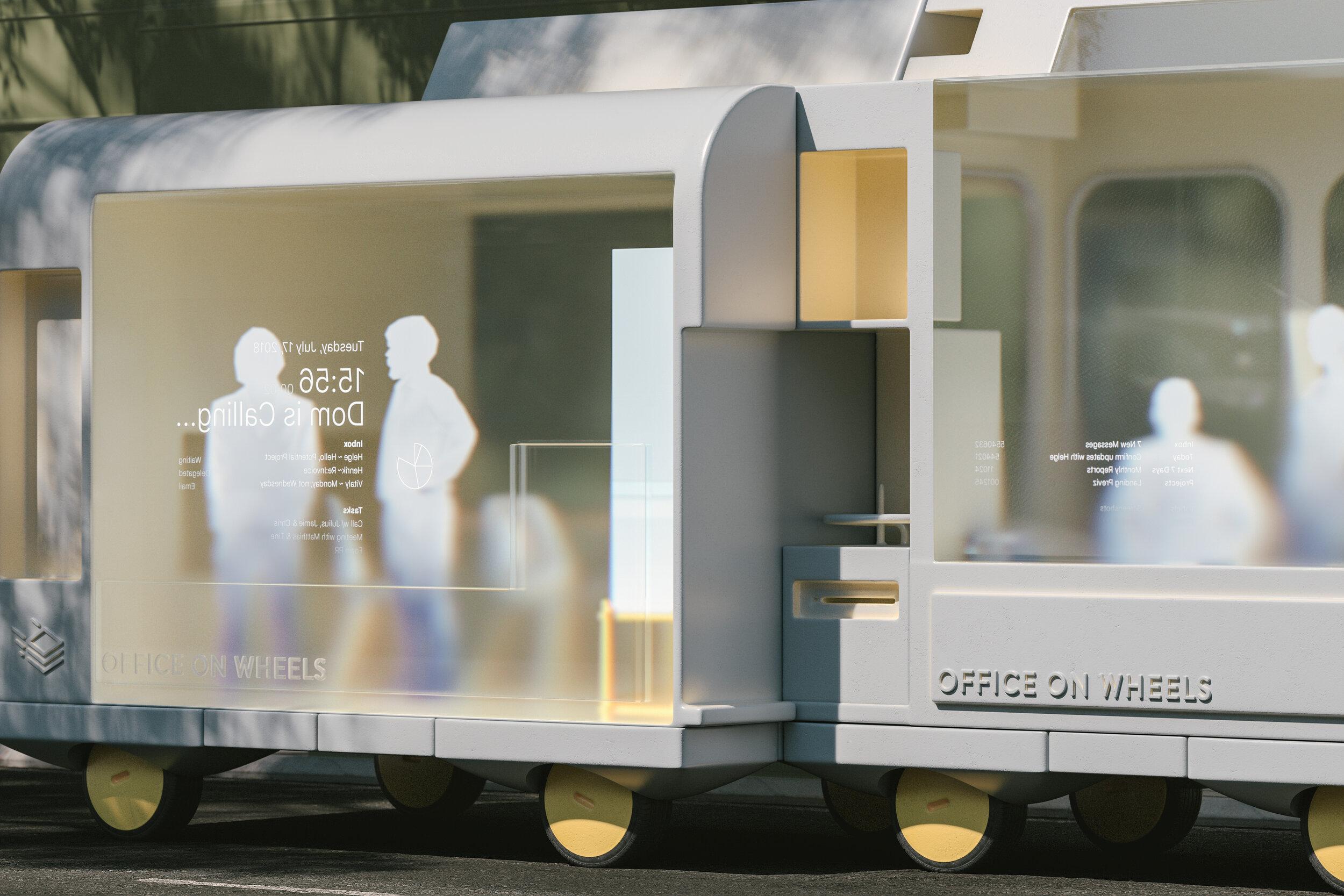 创新空间概念设计,房车设计,移动办公空间设计,快闪店设计,创意外卖车设计,概念设计图片,商业空间设计
