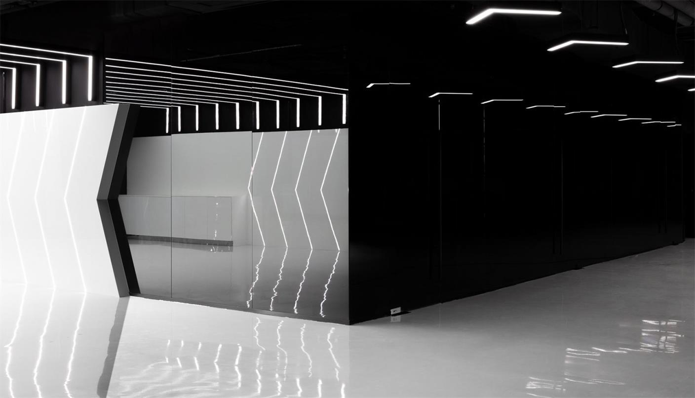 网吧入门处设计