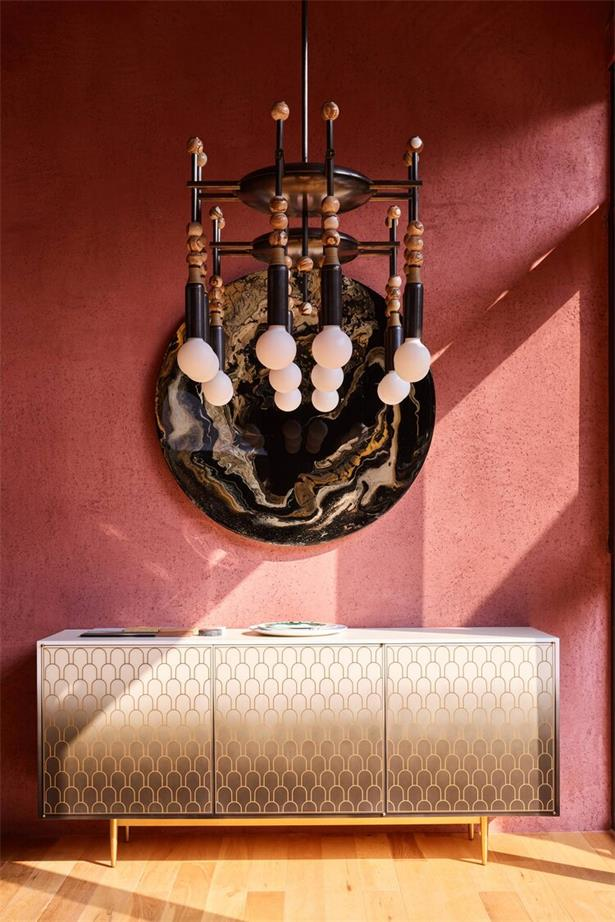 展厅墙面端景柜展示设计