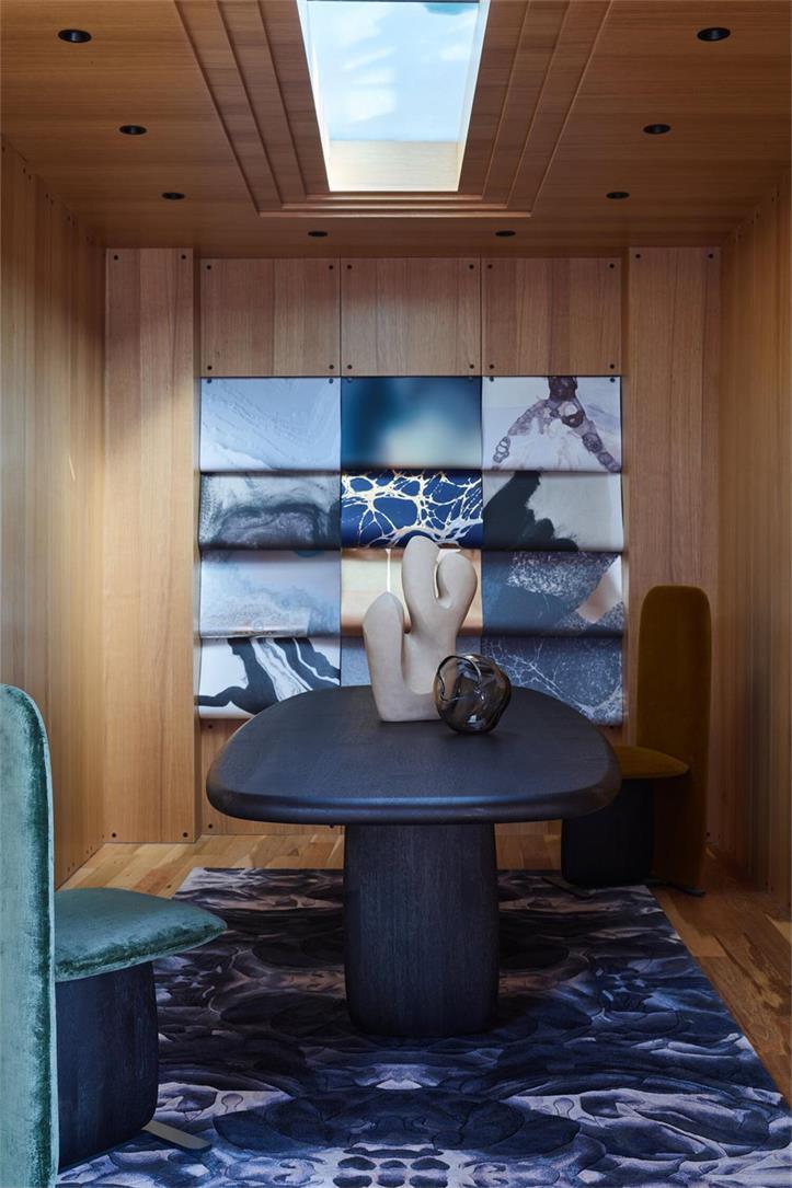 展厅木饰面墙面设计