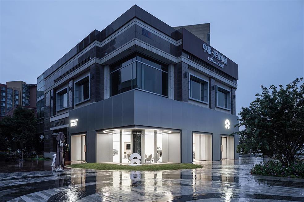 4S店建筑外立面设计