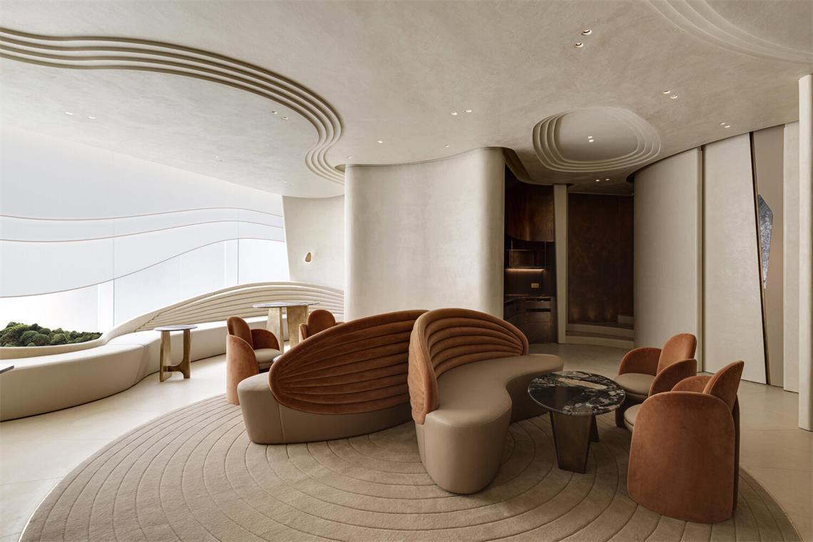 休息室端景家具设计