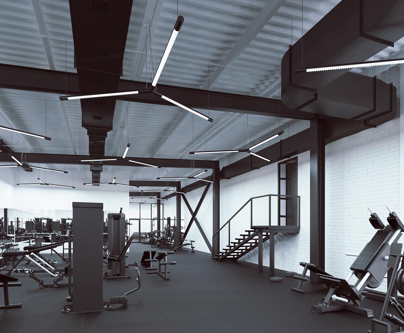 健身区域设计