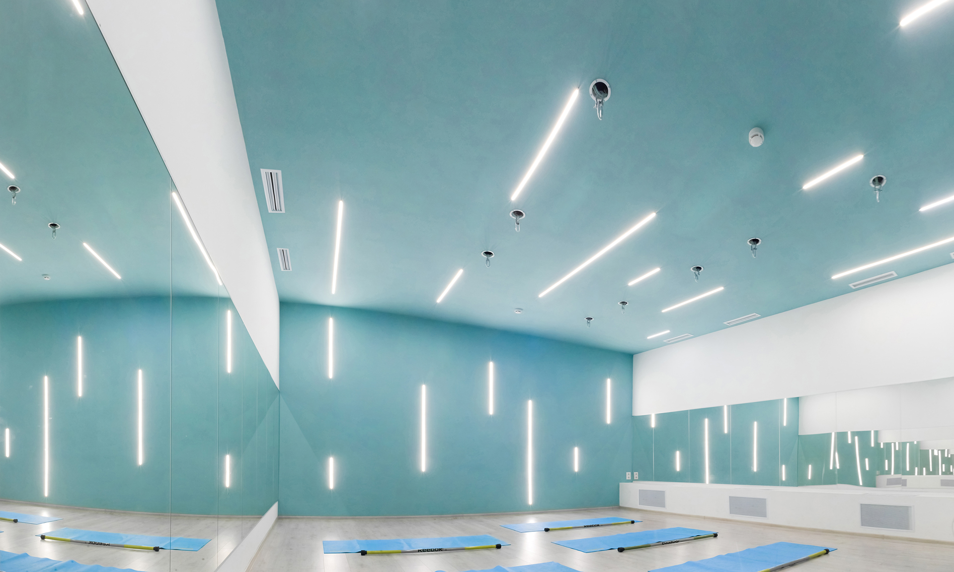健身房瑜伽室灯光设计