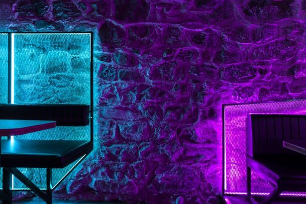 酒吧墙面材质设计
