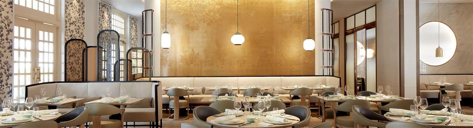 中餐厅用餐区背景设计