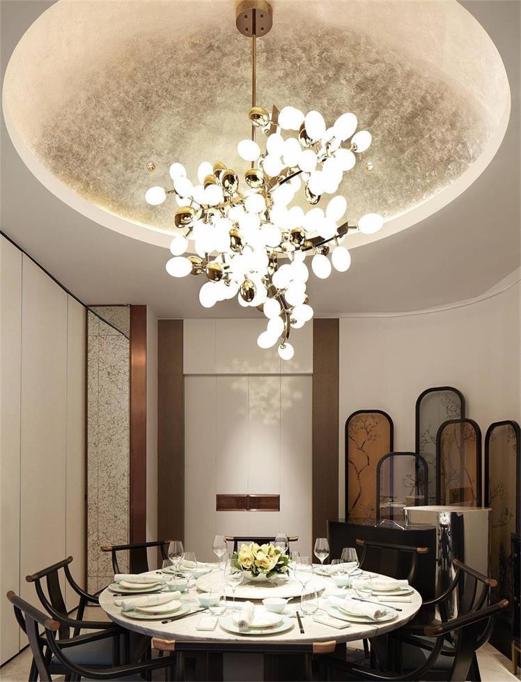 中餐厅私密包厢设计