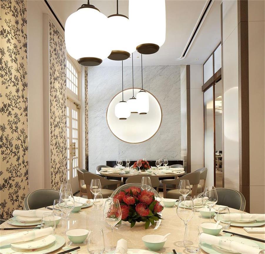 中餐厅灯具设计
