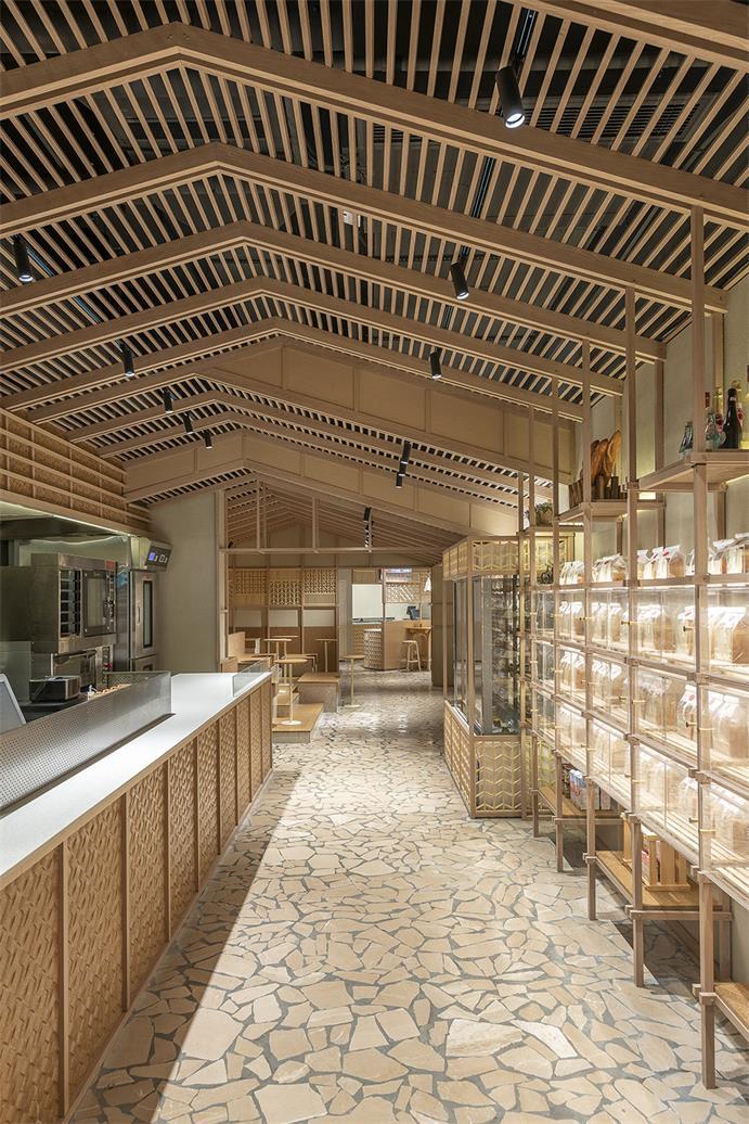 国潮超市烘焙区设计