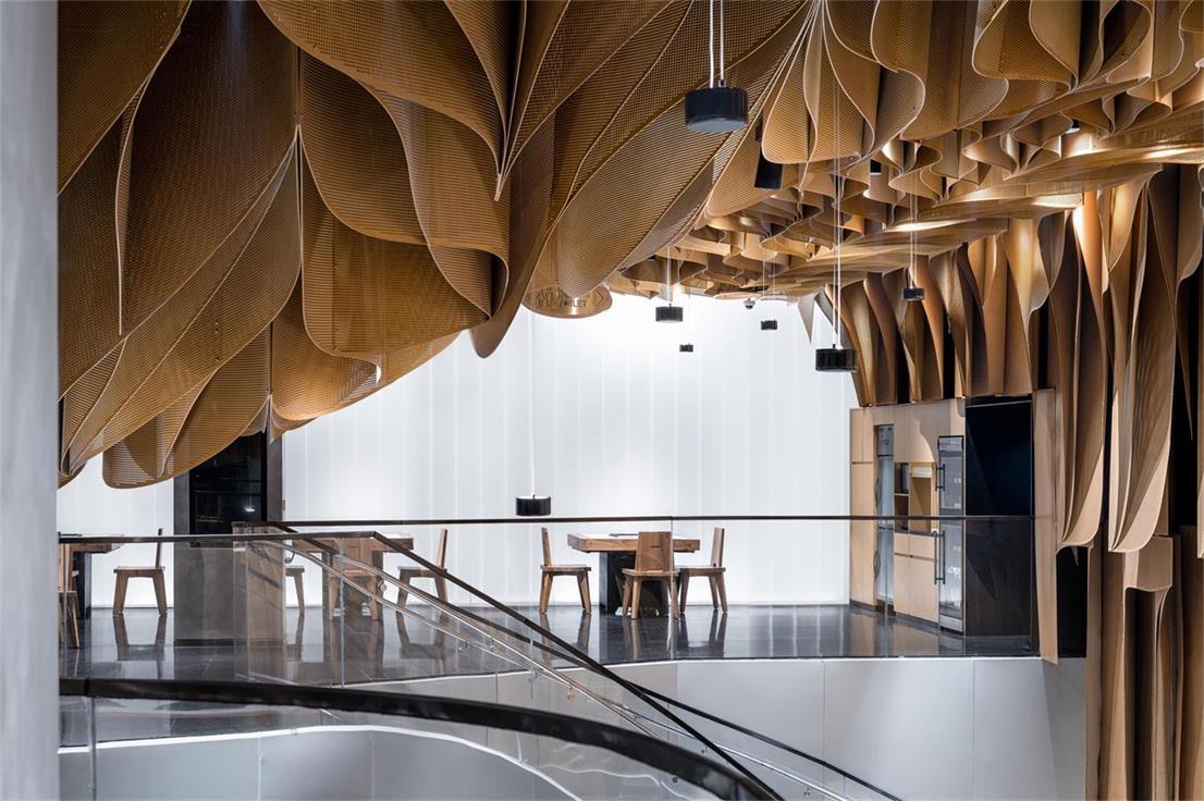 火锅店二层设计
