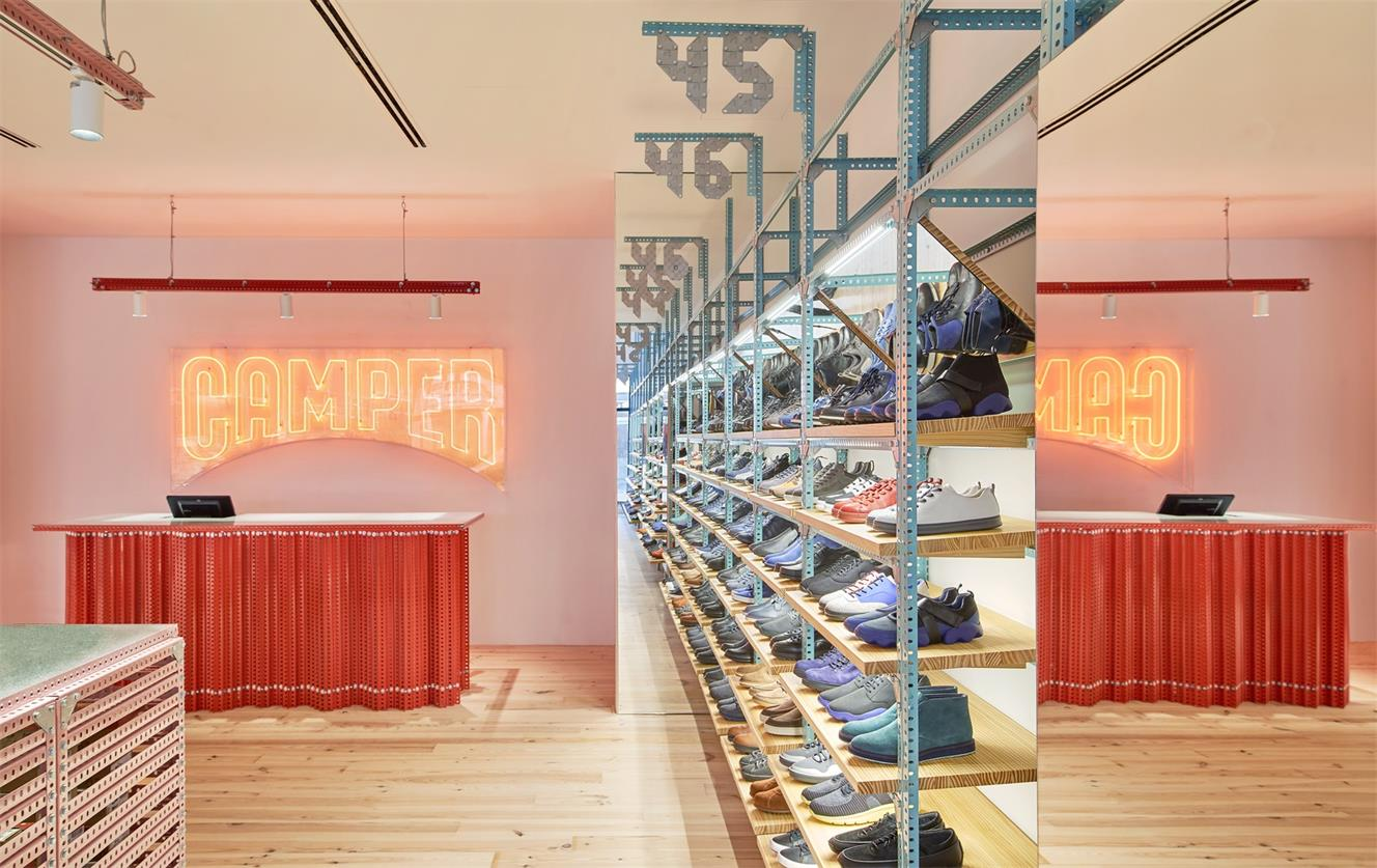 鞋店前台设计细节