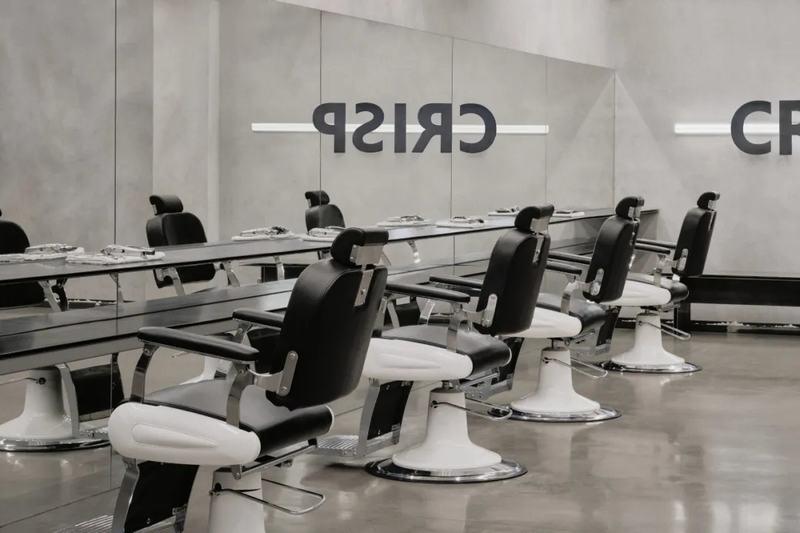 理发店剪发区域设计