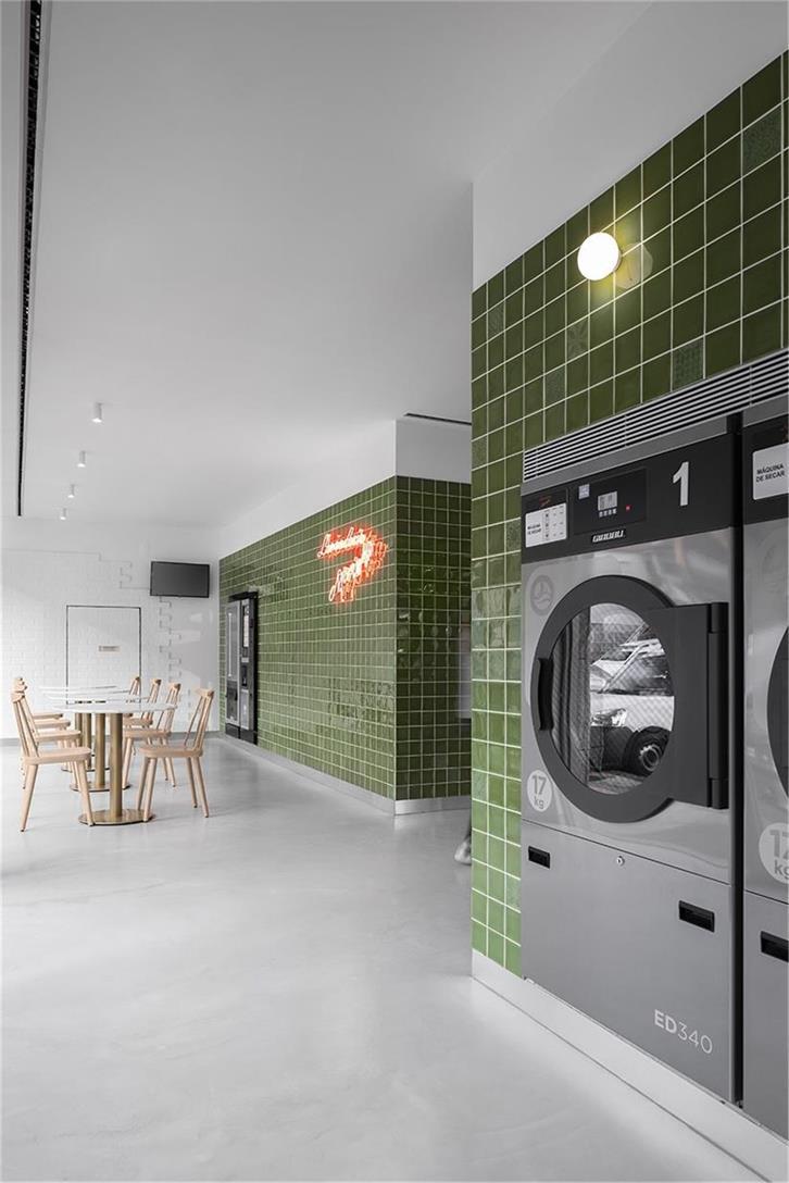 洗衣店休息区设计