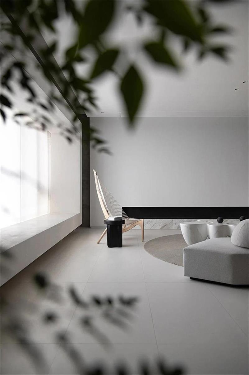 豪宅设计客厅一角