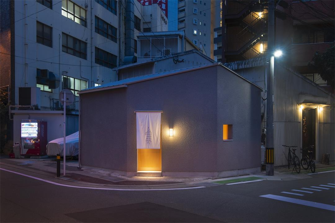寿司店外立面设计