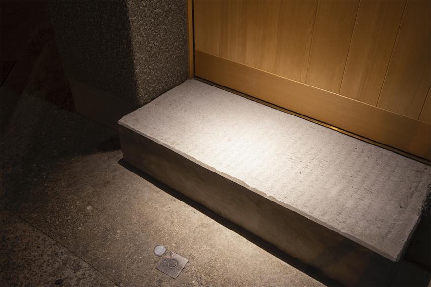寿司店入门台阶设计