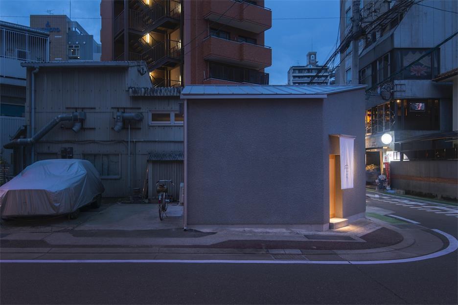 寿司店侧外立面设计
