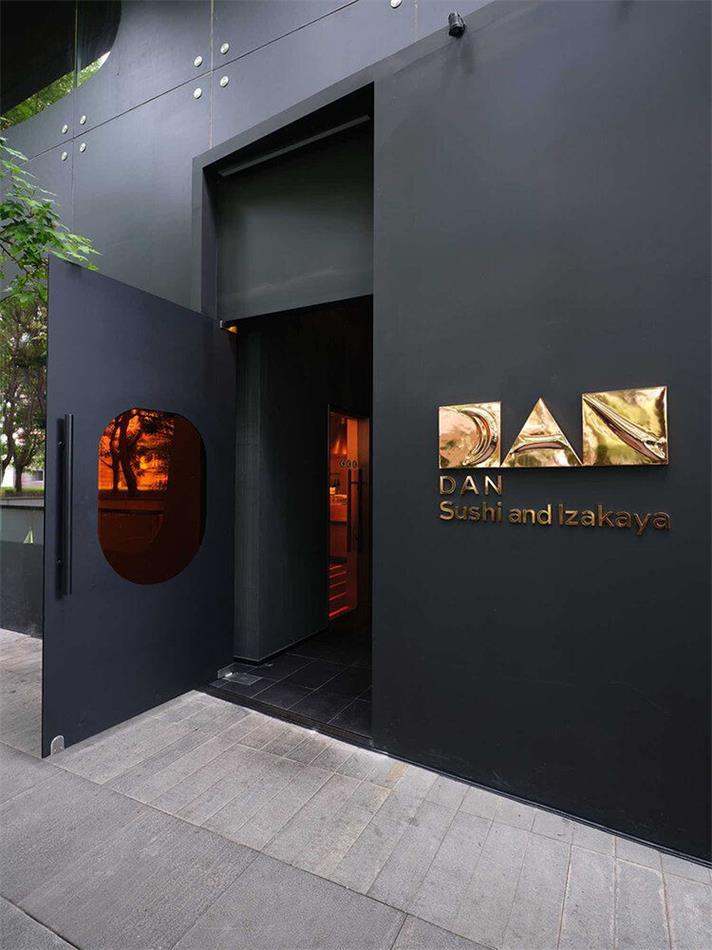 餐厅入户门设计
