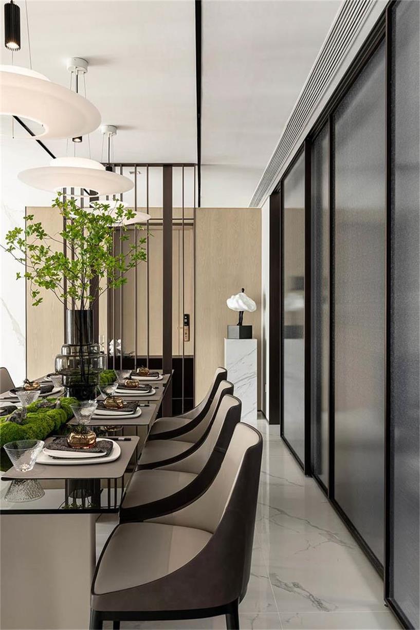 样板房设计餐厅全景