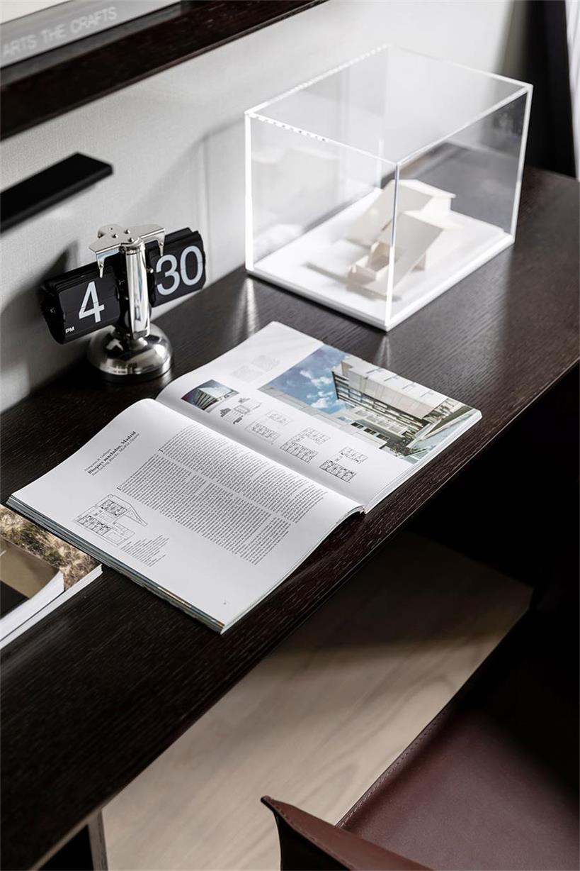 样板房设计之书桌细节