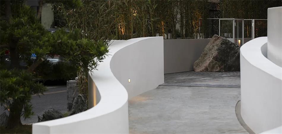 茶文化空间户外通道设计