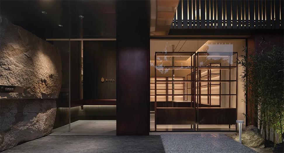茶文化空间入门玄关设计