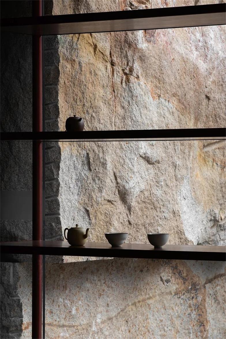 茶文化空间展示架设计