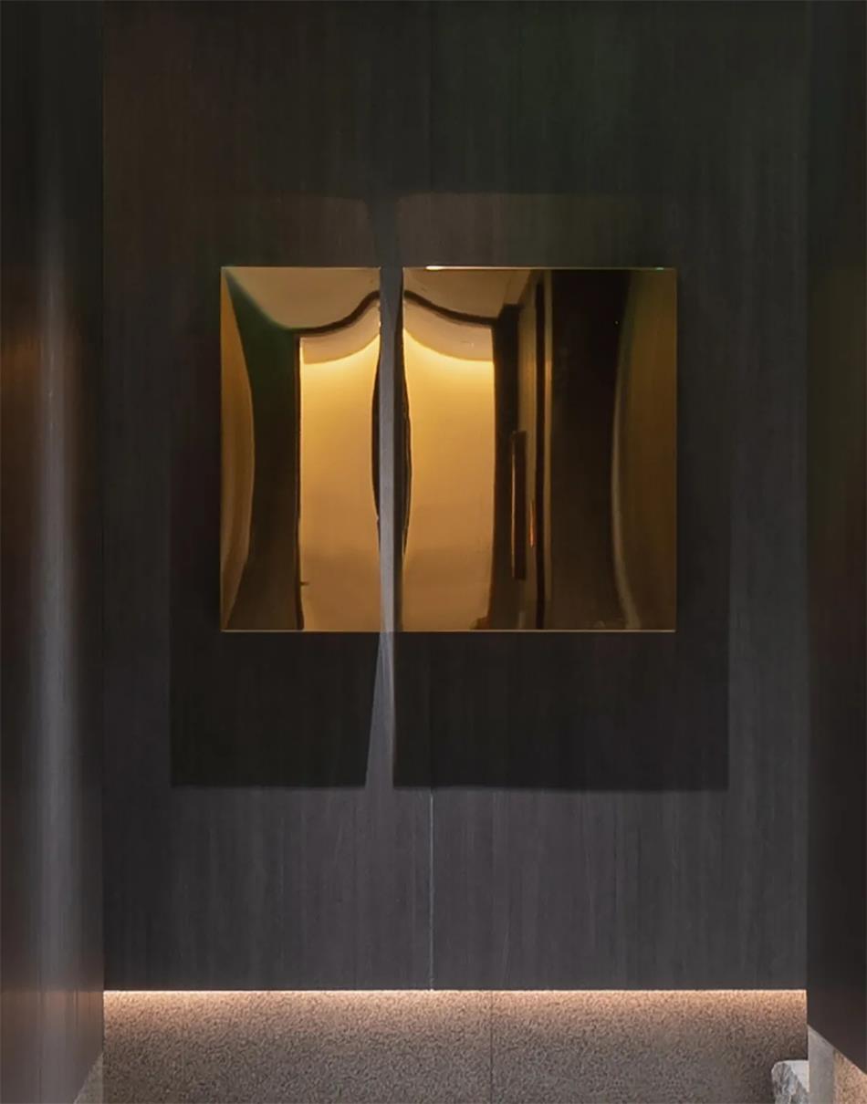 茶文化空间墙面装饰设计