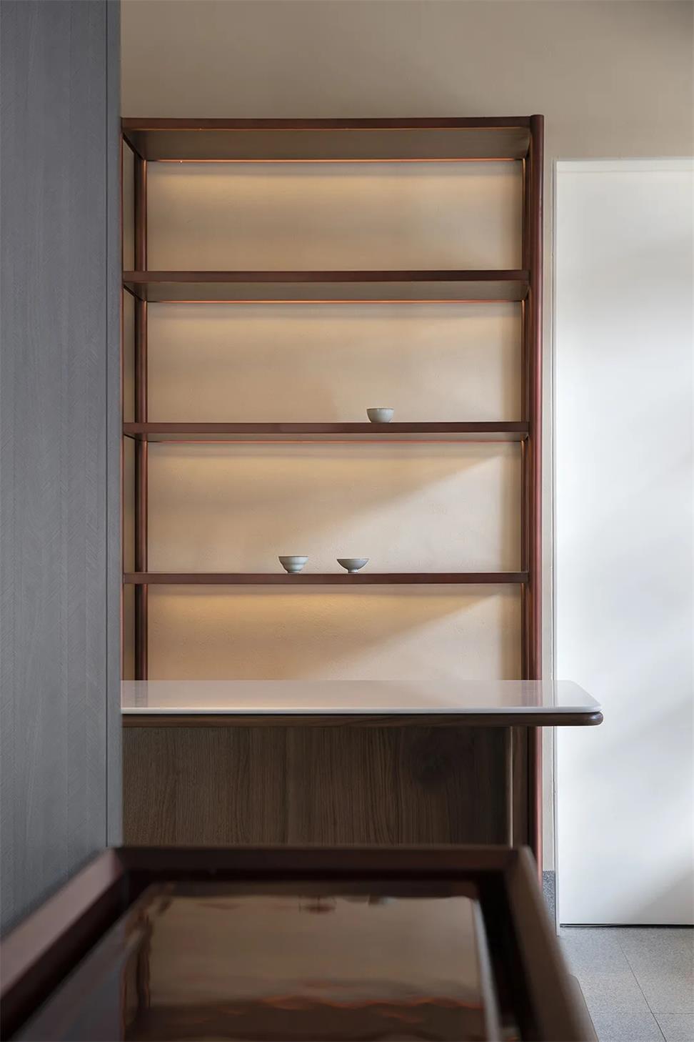 茶文化空间家具设计