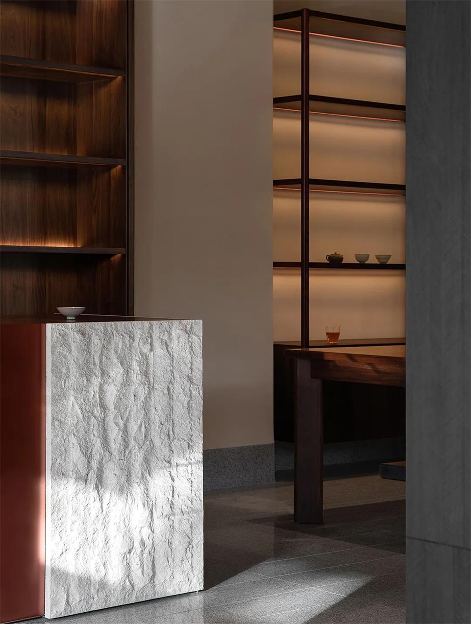 茶文化空间茶台设计